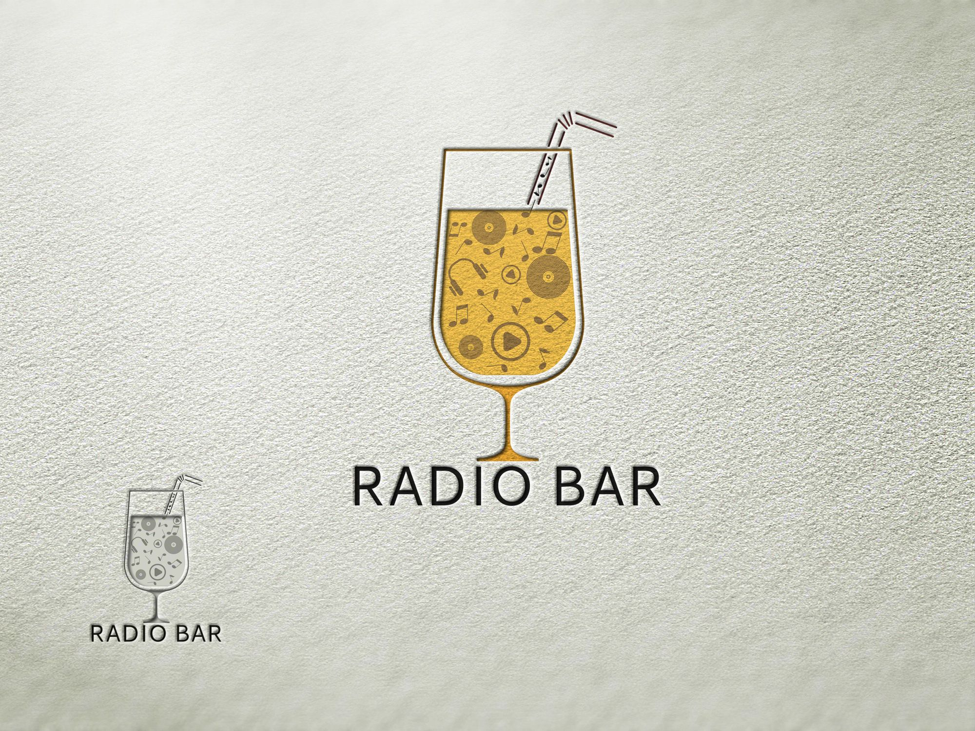 Логотип для Radio bar - дизайнер bobrofanton