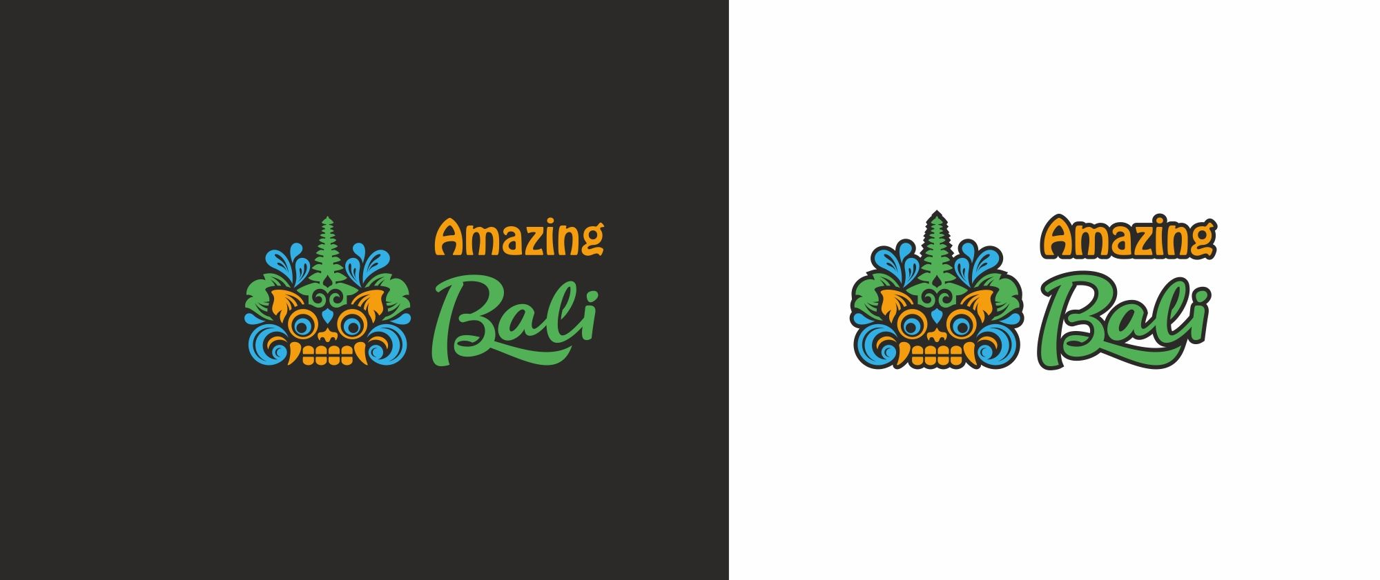 Логотип Amazing Bali - дизайнер MarinaDX