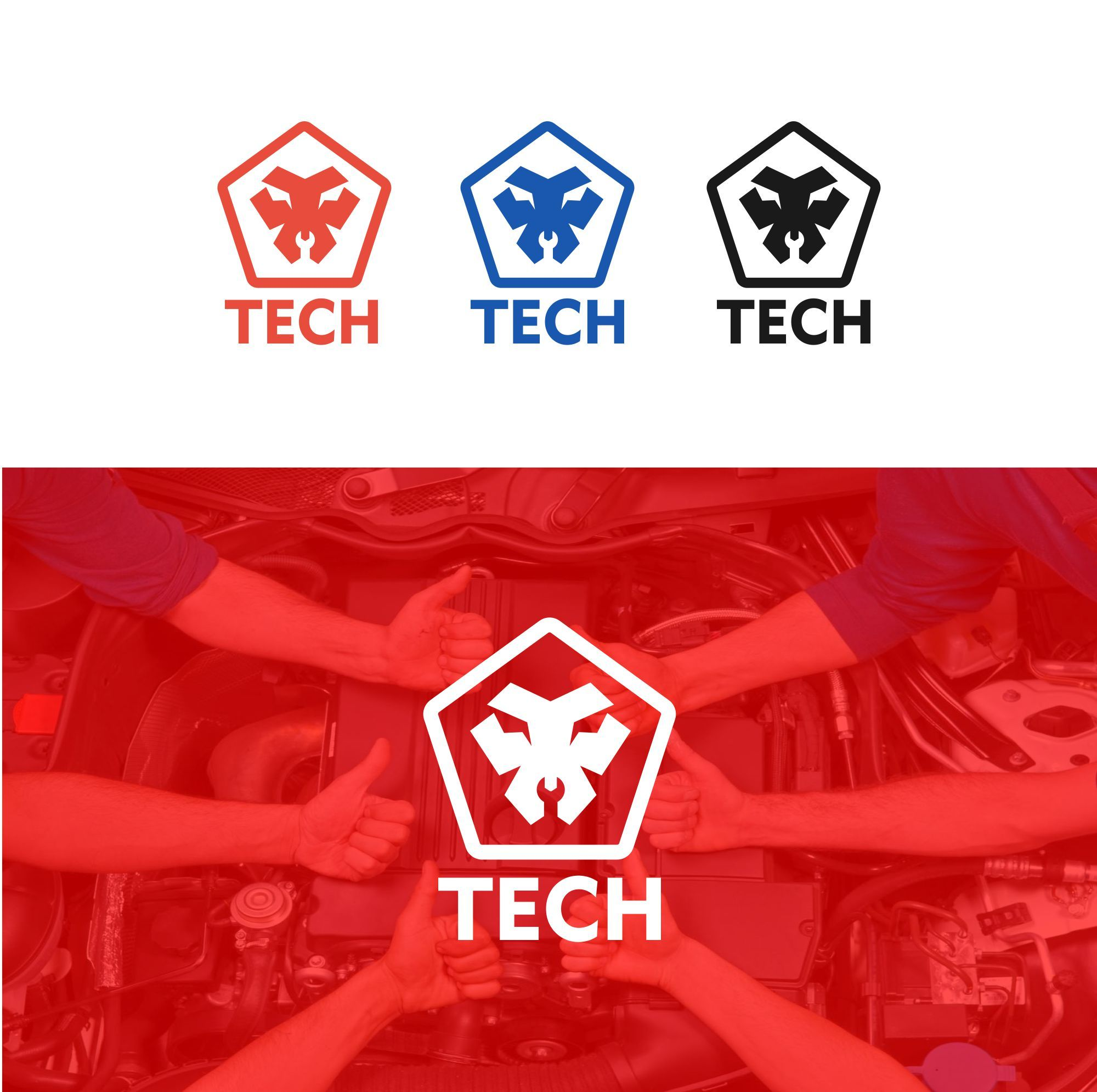 Логотип для TECH - дизайнер serz4868