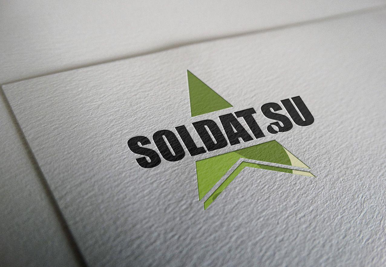 Лого и фирменный стиль для SOLDAT.SU - дизайнер Nazorey