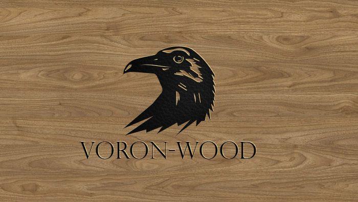 Логотип для Voron-Wood - дизайнер YESS