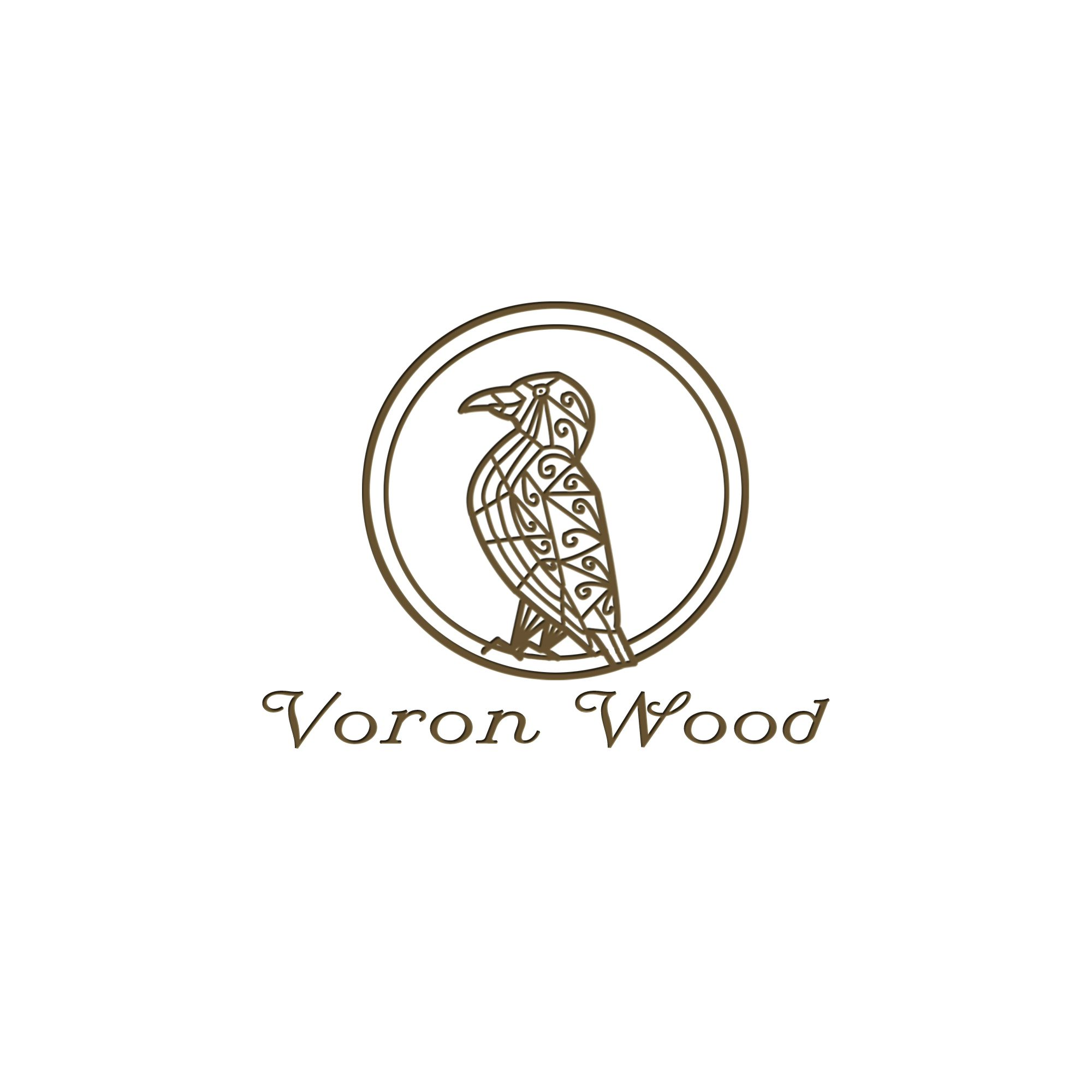 Логотип для Voron-Wood - дизайнер AlekseiV
