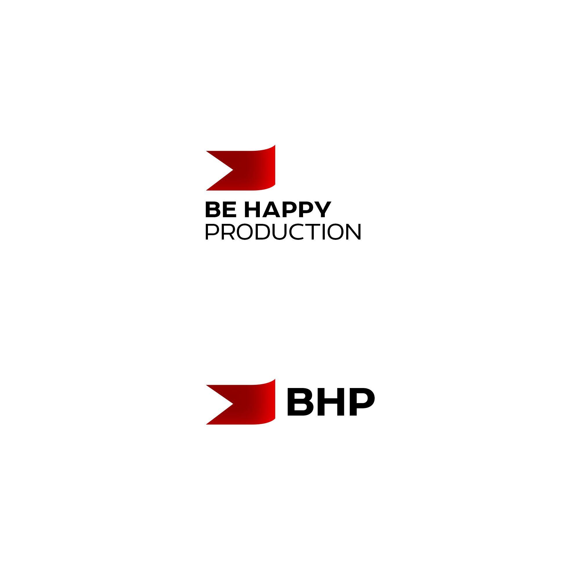 Логотип для Be Happy Production  - дизайнер weste32