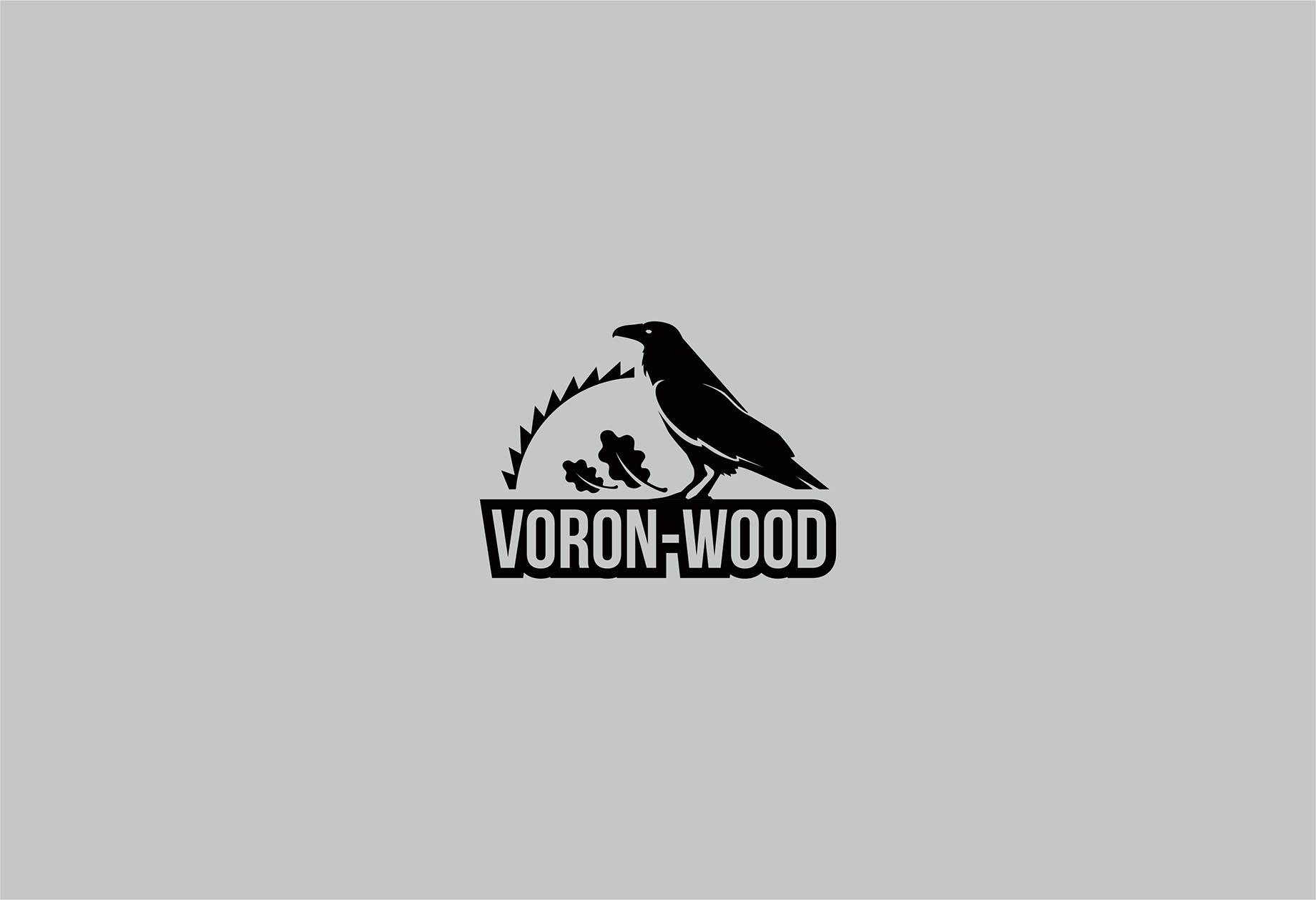 Логотип для Voron-Wood - дизайнер Zastava