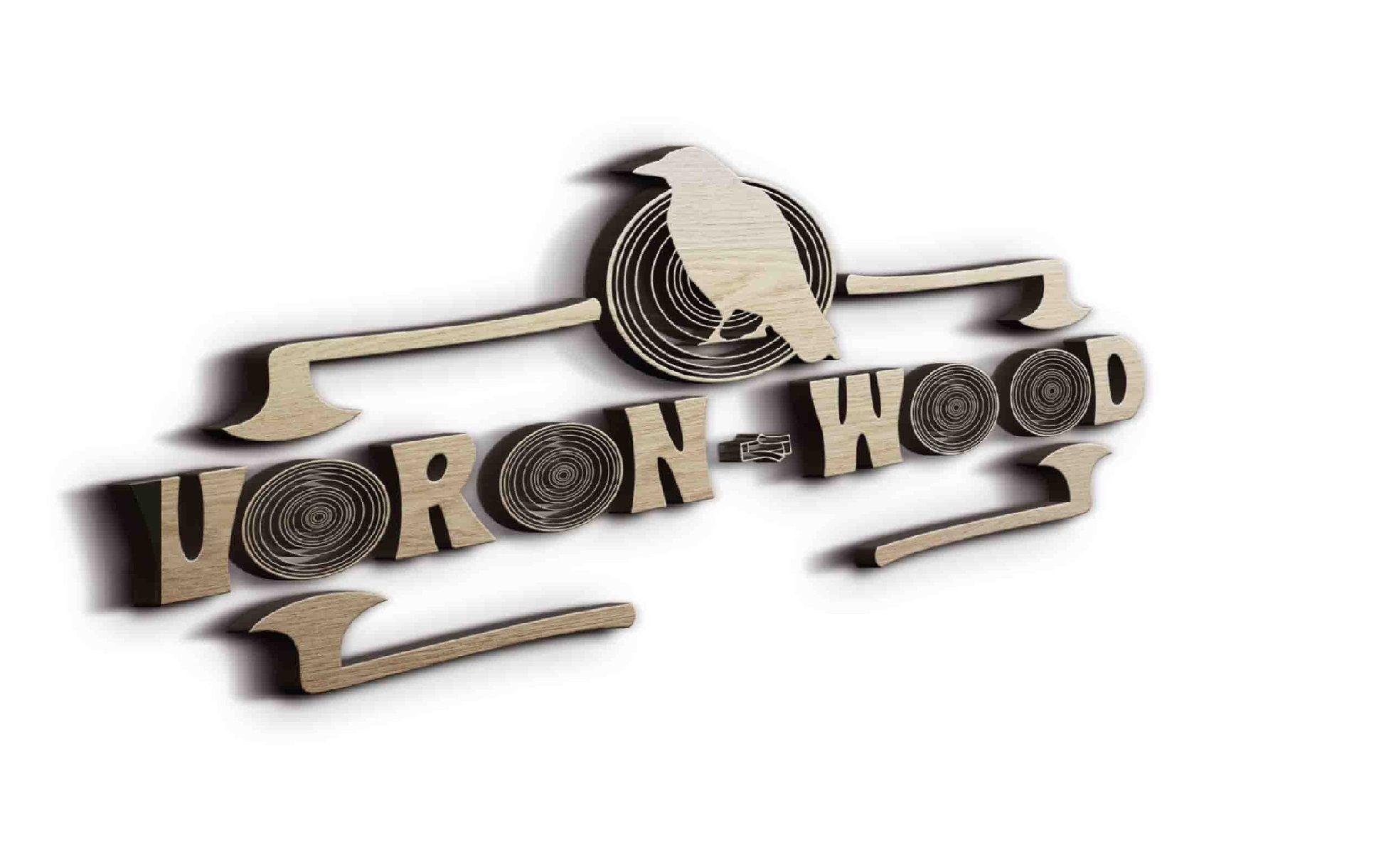 Логотип для Voron-Wood - дизайнер Rusalam