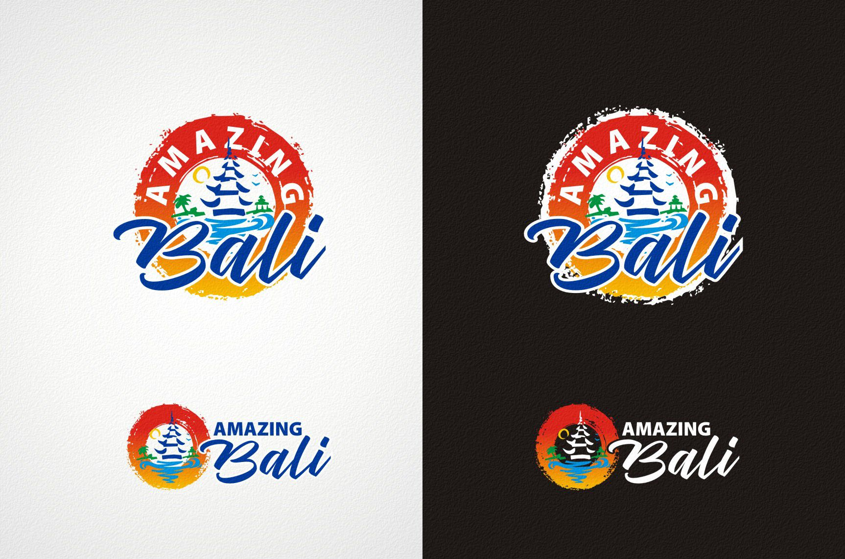 Логотип Amazing Bali - дизайнер Zheravin