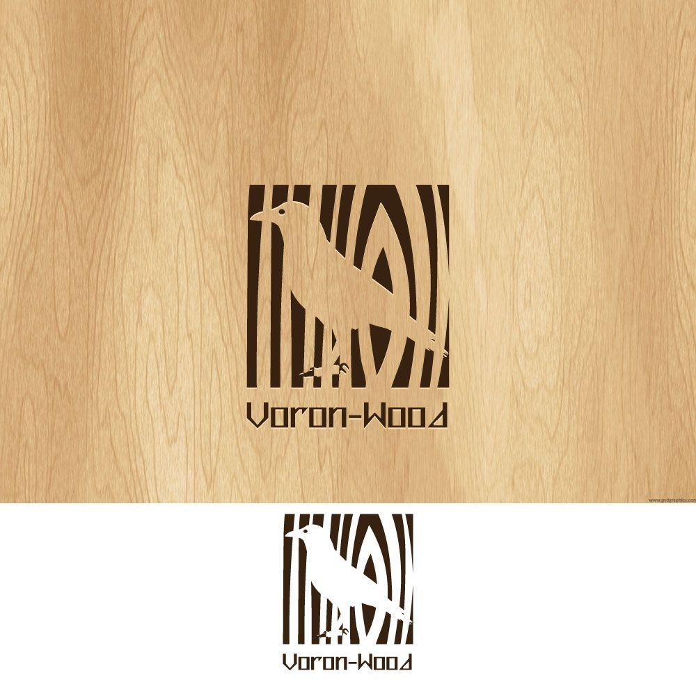 Логотип для Voron-Wood - дизайнер milos18