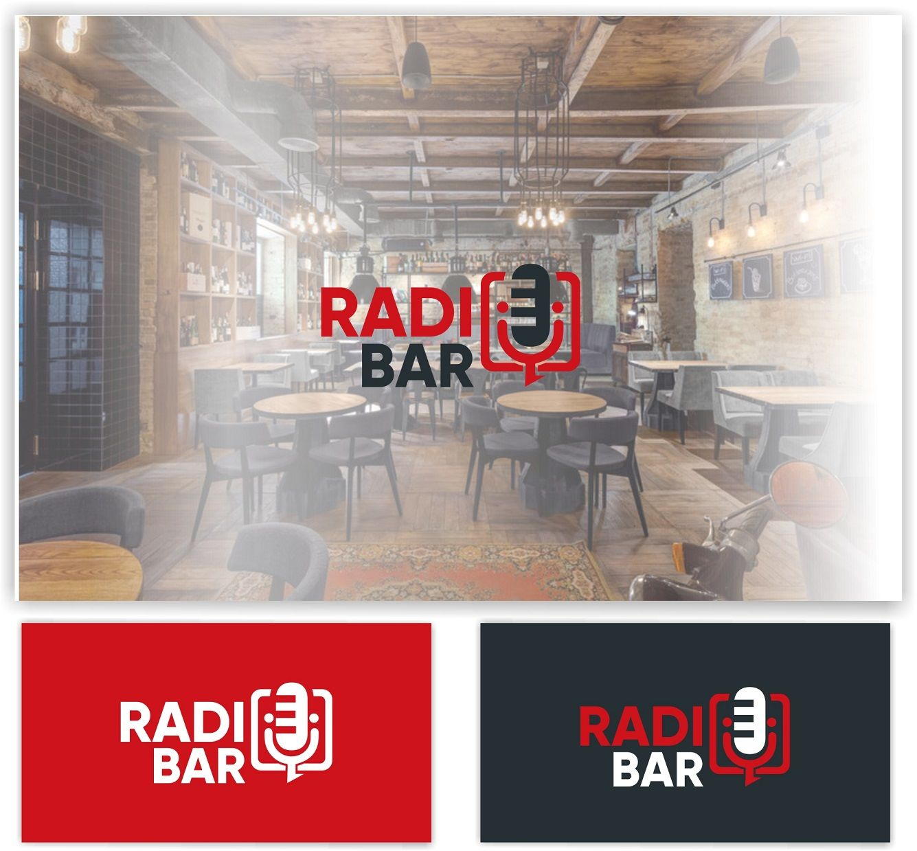 Логотип для Radio bar - дизайнер malito