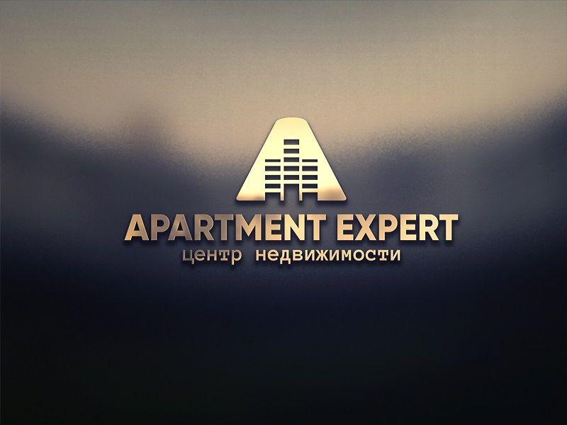 Логотип для APARTMENT EXPERT - ЦЕНТР НЕДВИЖИМОСТИ - дизайнер malito