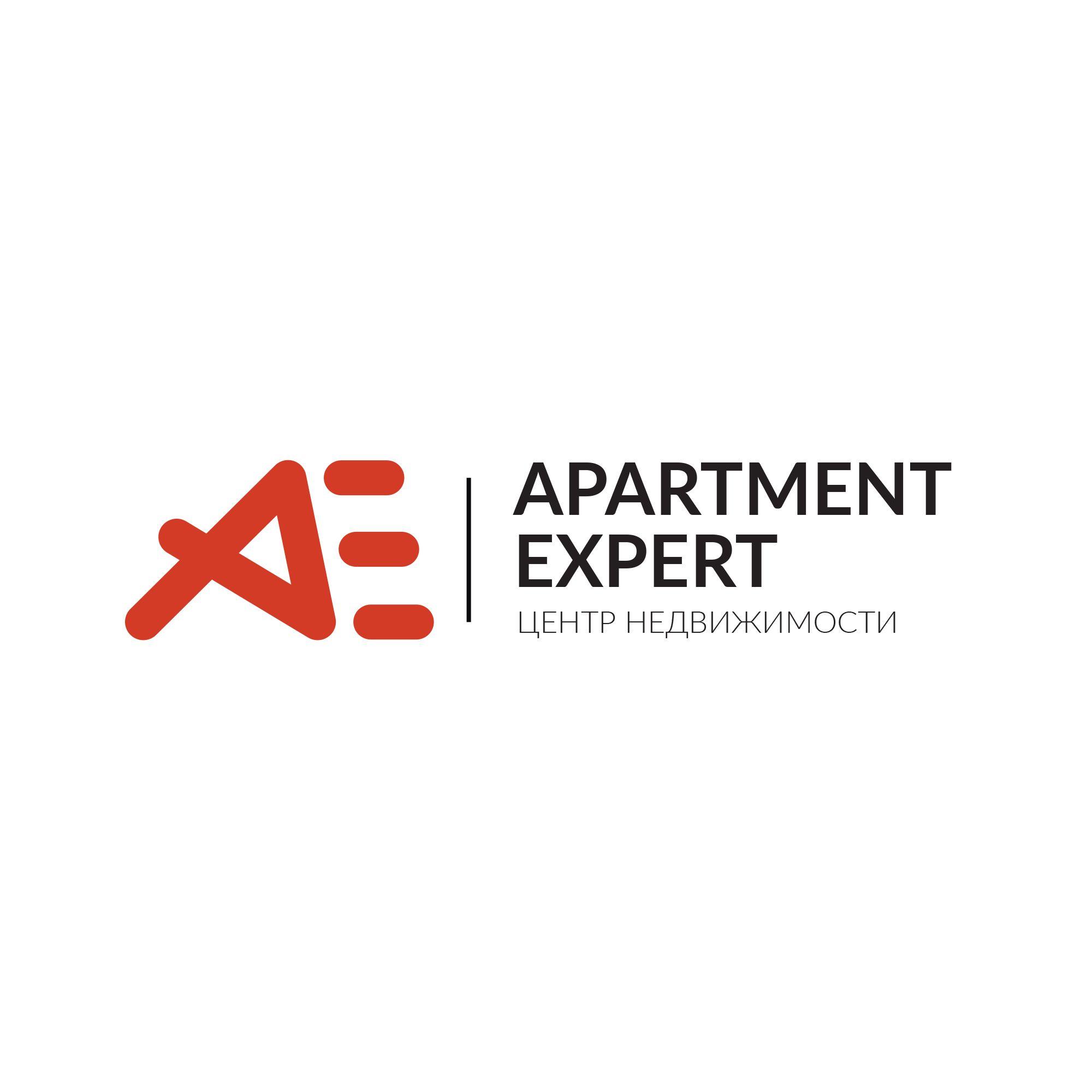 Логотип для APARTMENT EXPERT - ЦЕНТР НЕДВИЖИМОСТИ - дизайнер Kir_Abrams
