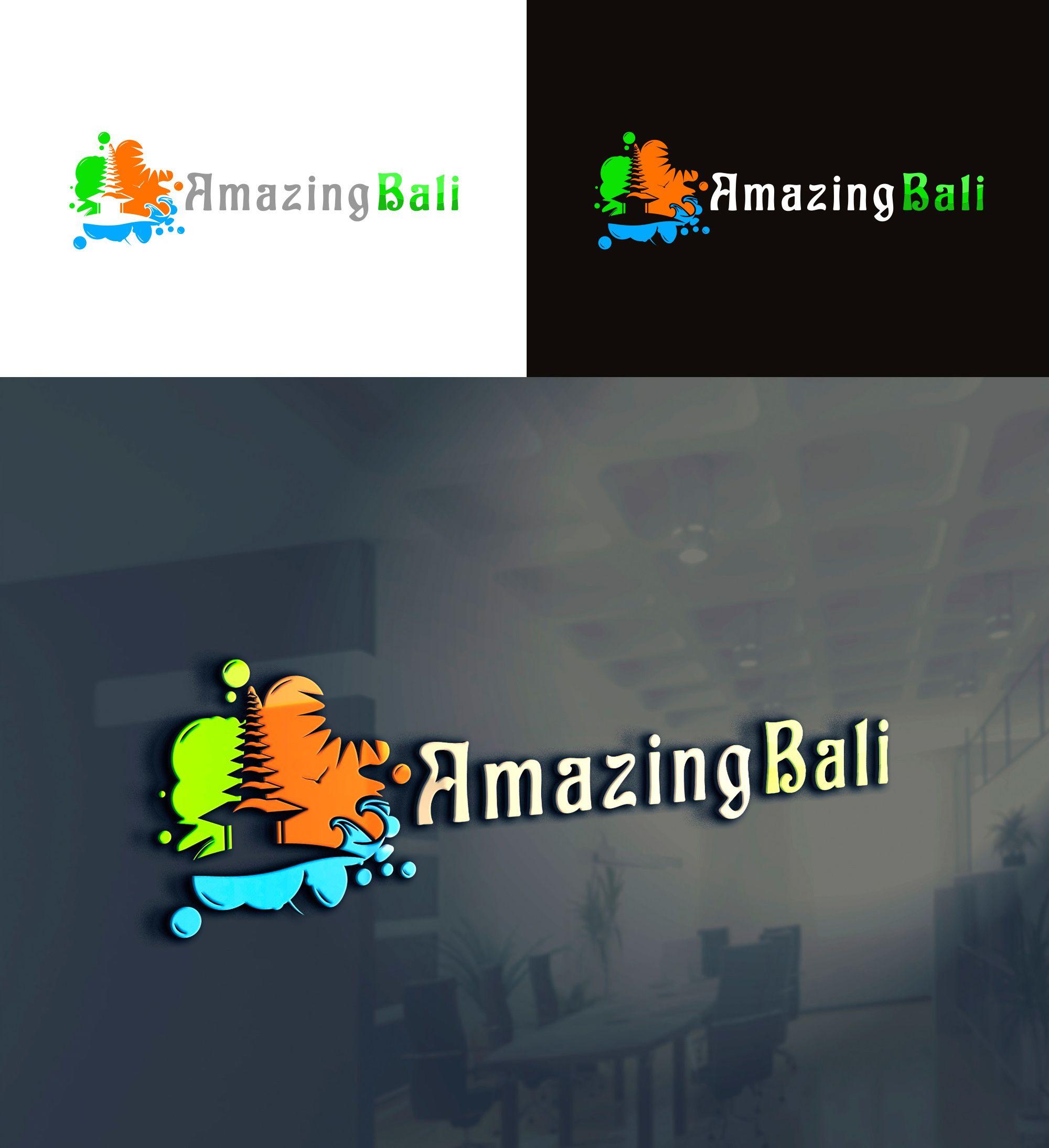 Логотип Amazing Bali - дизайнер Omefis