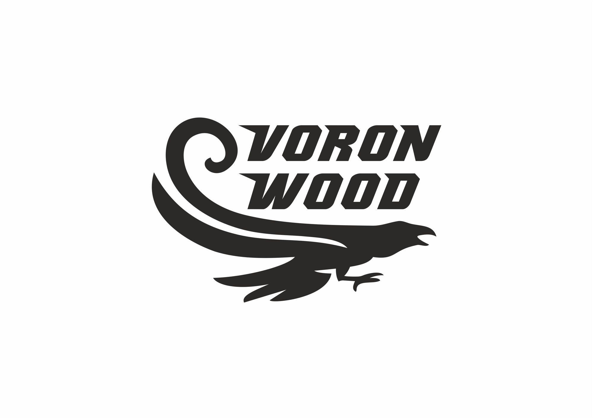 Логотип для Voron-Wood - дизайнер rowan