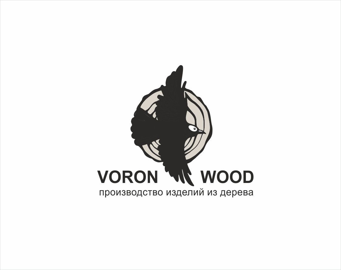 Логотип для Voron-Wood - дизайнер lubico