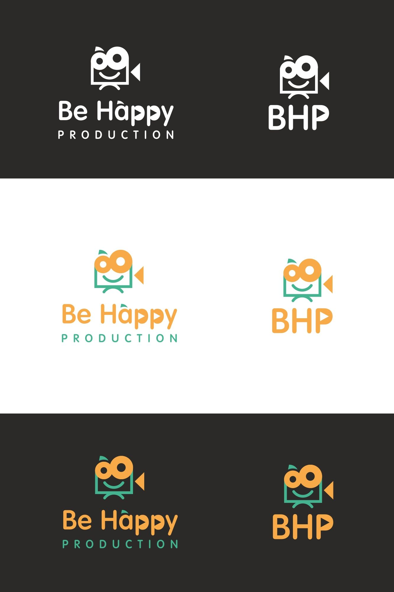 Логотип для Be Happy Production  - дизайнер MarinaDX