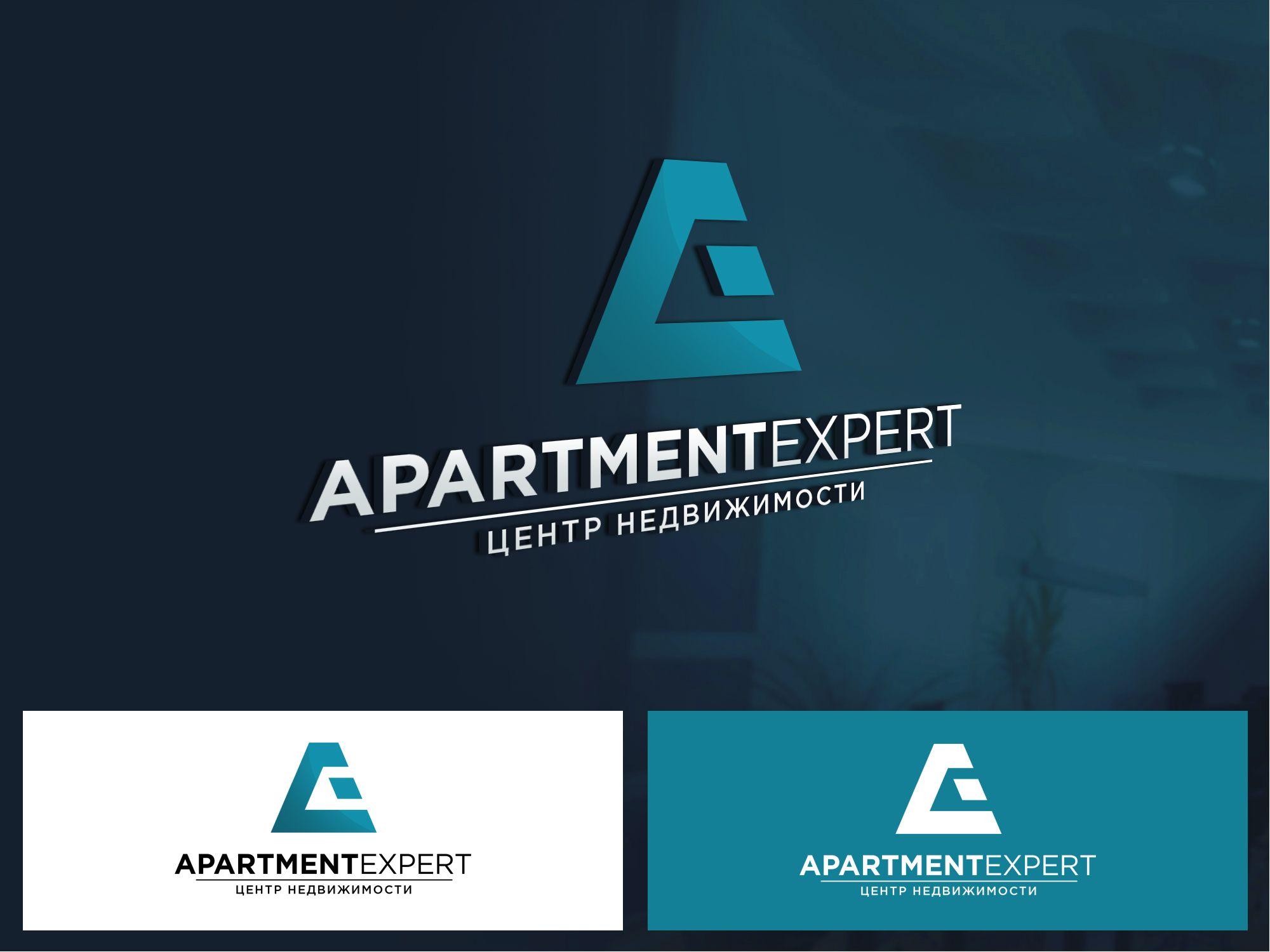 Логотип для APARTMENT EXPERT - ЦЕНТР НЕДВИЖИМОСТИ - дизайнер webgrafika