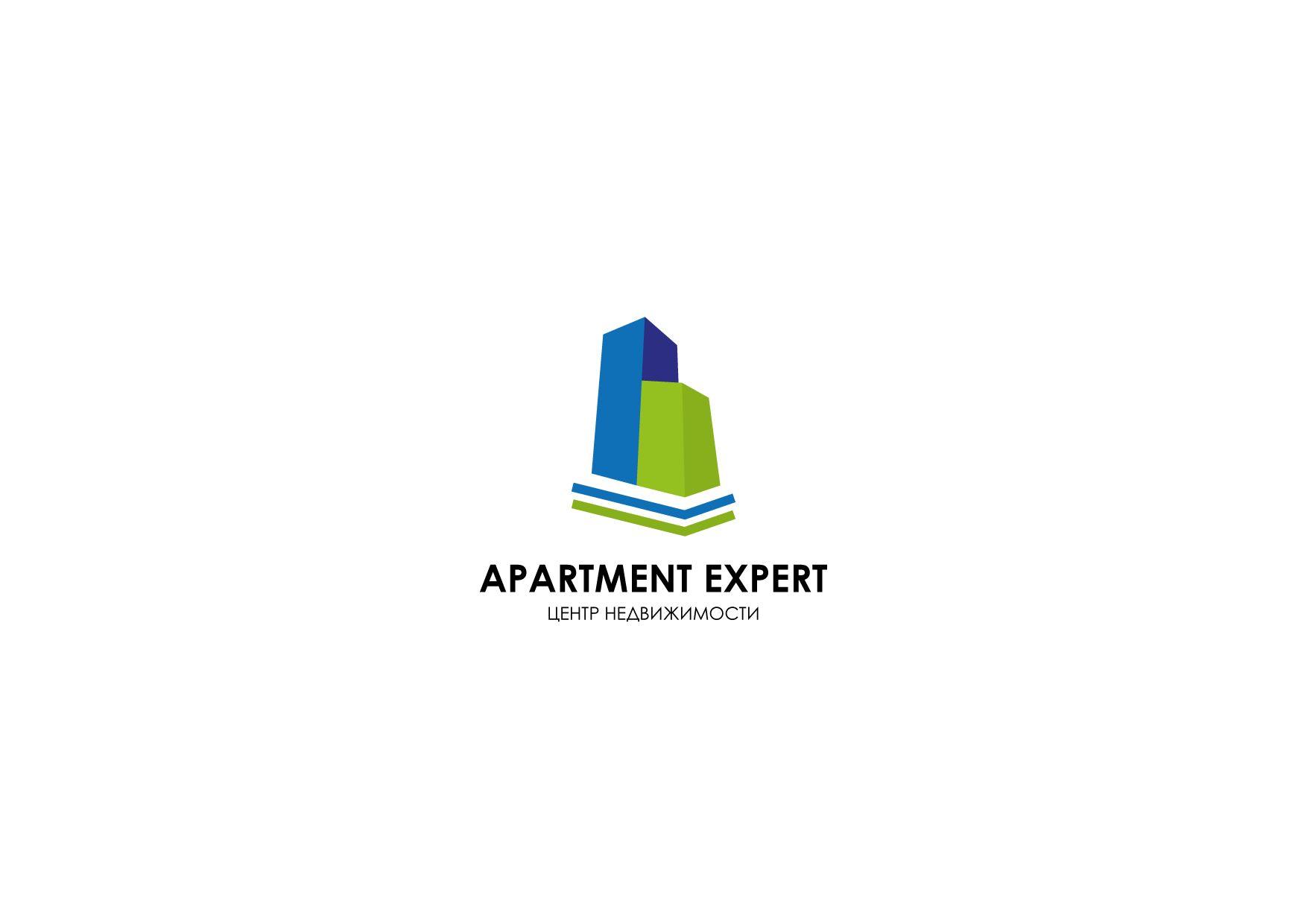 Логотип для APARTMENT EXPERT - ЦЕНТР НЕДВИЖИМОСТИ - дизайнер kirilln84