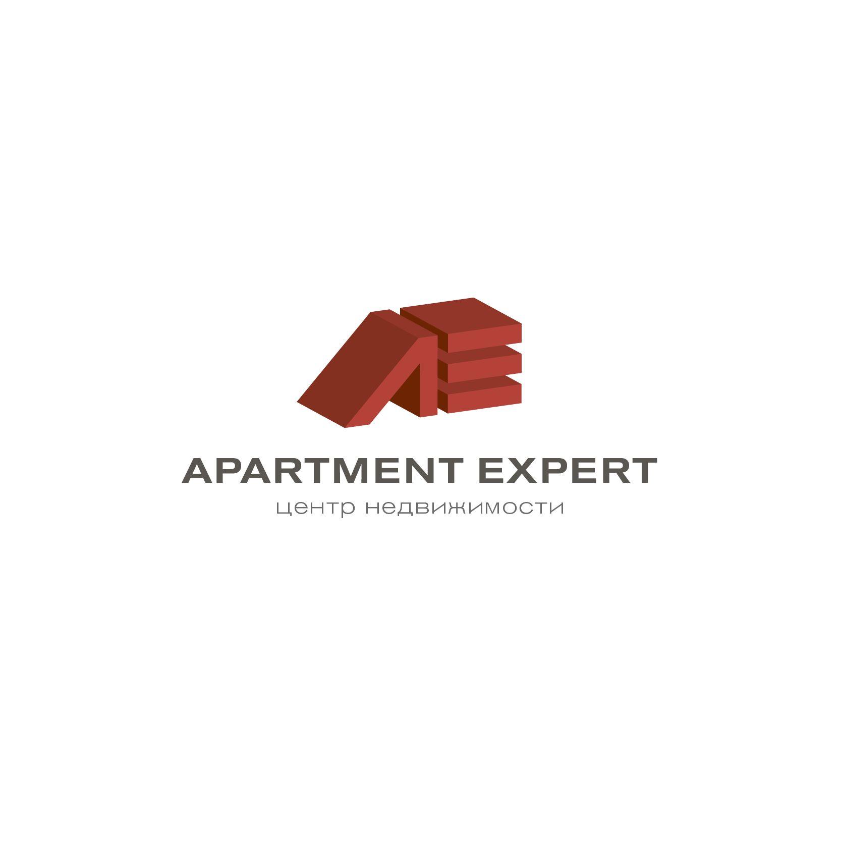 Логотип для APARTMENT EXPERT - ЦЕНТР НЕДВИЖИМОСТИ - дизайнер Alexsg