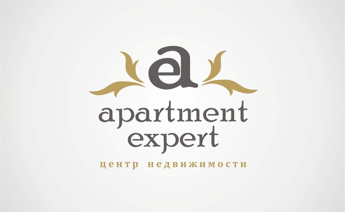 Логотип для APARTMENT EXPERT - ЦЕНТР НЕДВИЖИМОСТИ - дизайнер YolkaGagarina