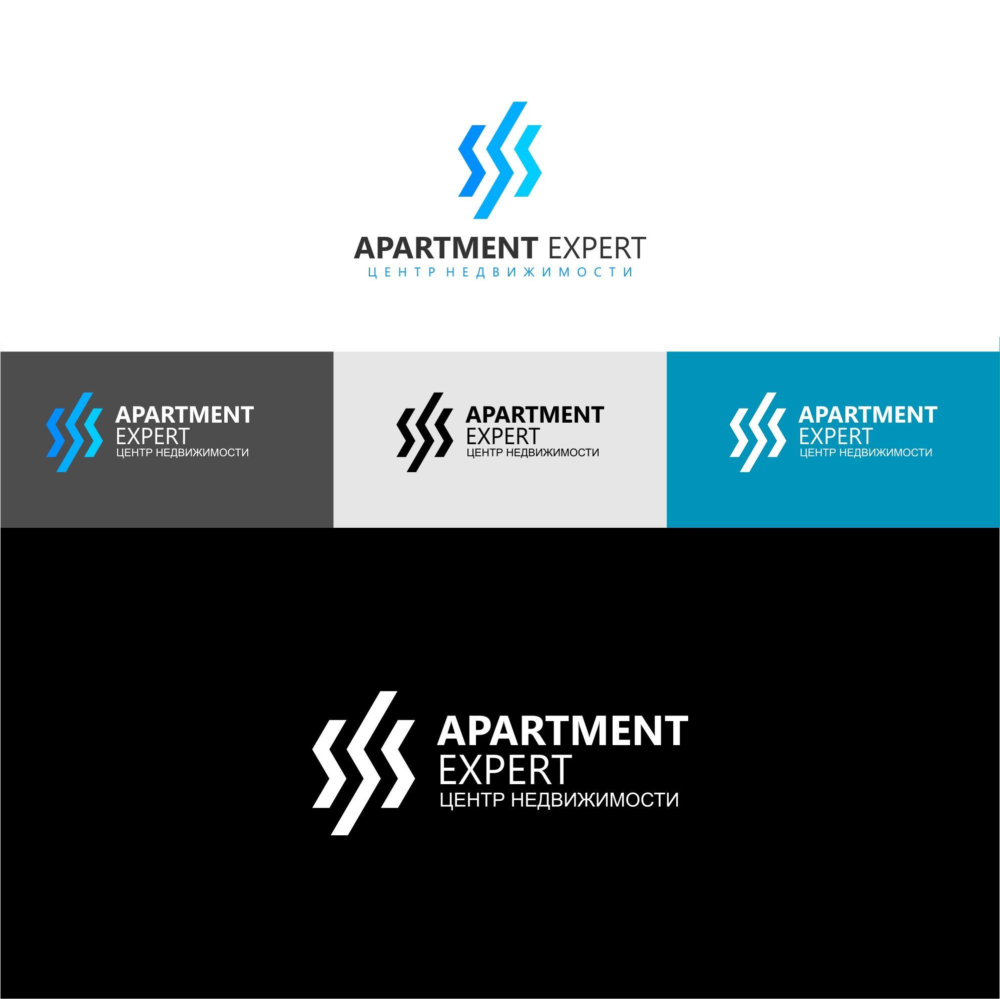 Логотип для APARTMENT EXPERT - ЦЕНТР НЕДВИЖИМОСТИ - дизайнер serz4868
