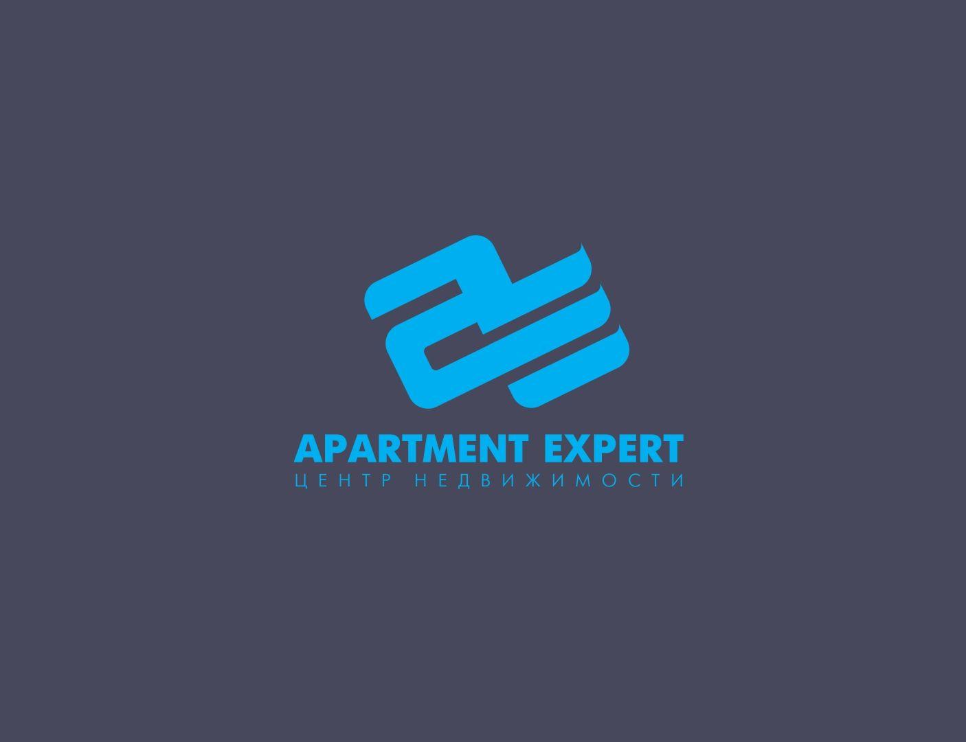 Логотип для APARTMENT EXPERT - ЦЕНТР НЕДВИЖИМОСТИ - дизайнер F-maker