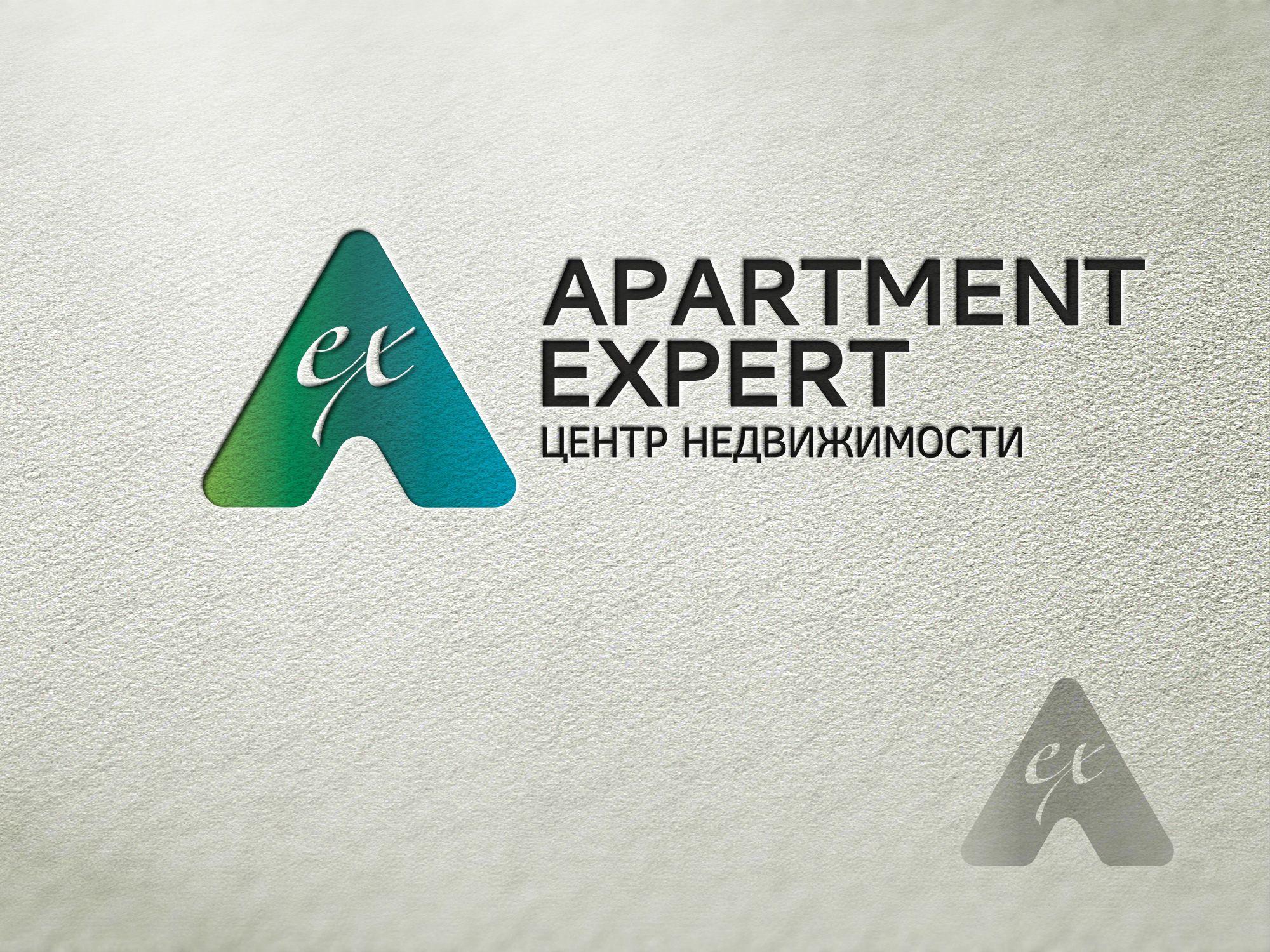 Логотип для APARTMENT EXPERT - ЦЕНТР НЕДВИЖИМОСТИ - дизайнер bobrofanton