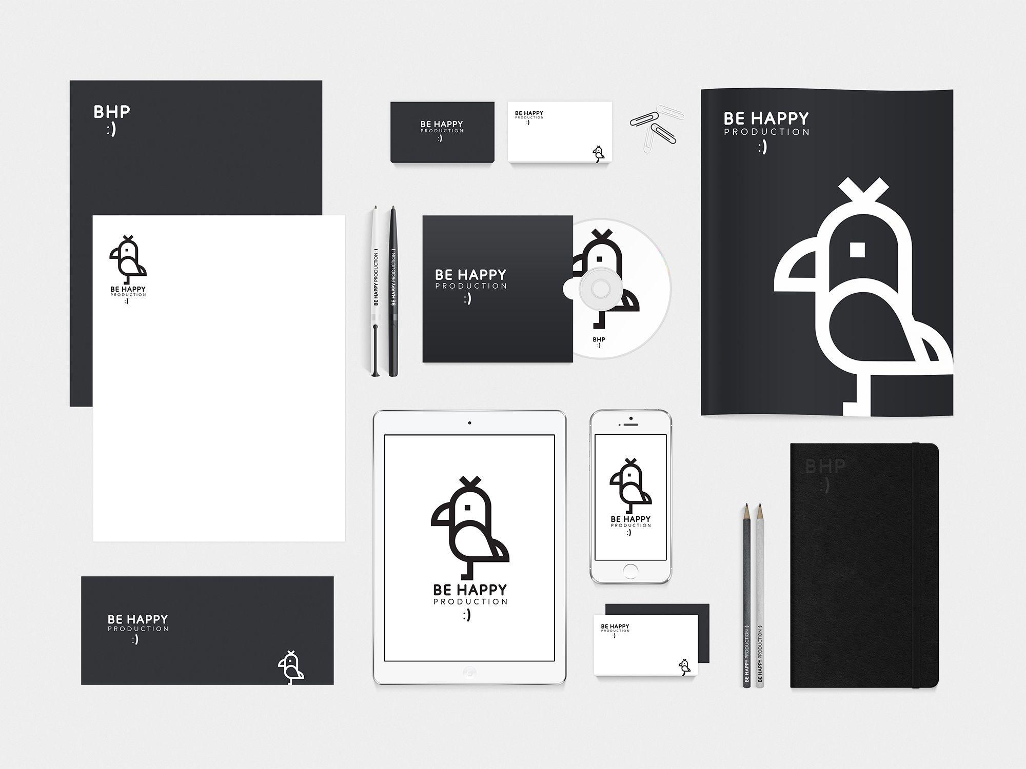 Логотип для Be Happy Production  - дизайнер jen_budaragina