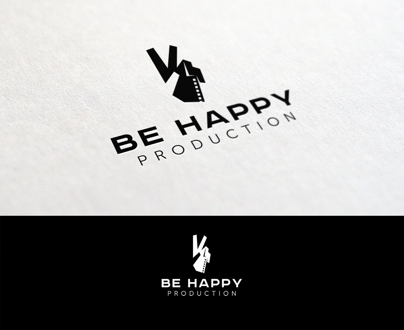 Логотип для Be Happy Production  - дизайнер mz777
