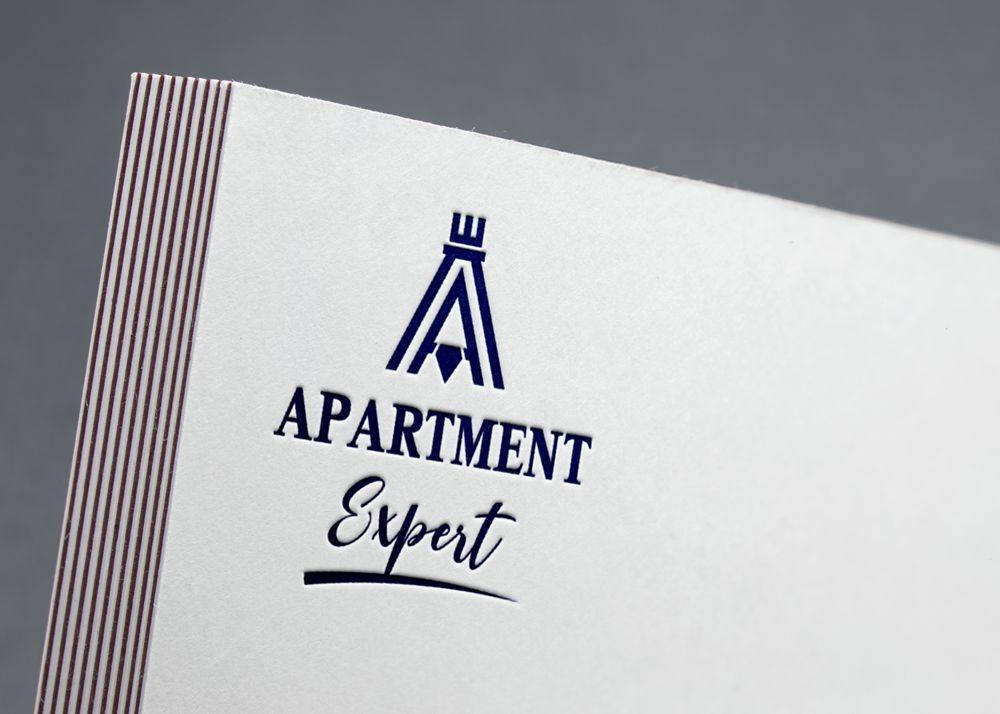 Логотип для APARTMENT EXPERT - ЦЕНТР НЕДВИЖИМОСТИ - дизайнер DIZIBIZI
