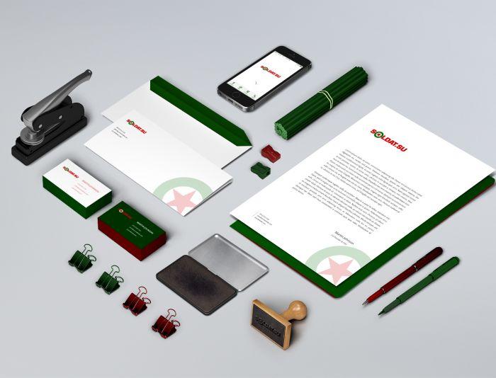Лого и фирменный стиль для SOLDAT.SU - дизайнер nailnigmat