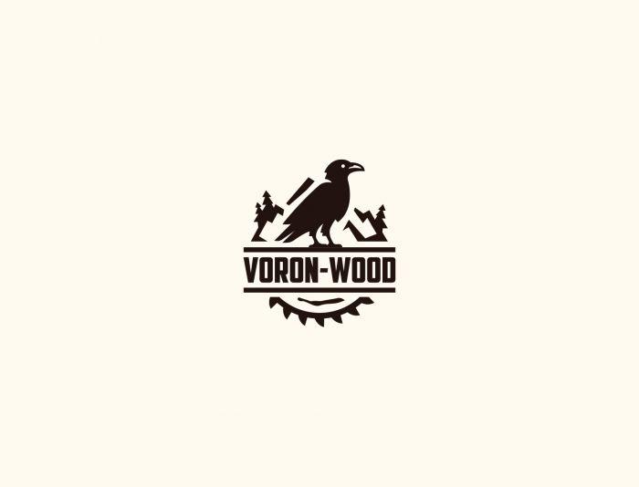 Логотип для Voron-Wood - дизайнер Astar