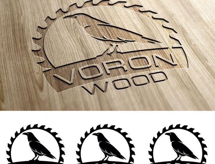 Логотип для Voron-Wood - дизайнер makakashonok