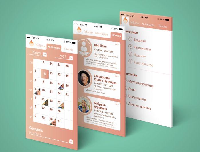 Дизайн мобильного приложения - дизайнер ask_wel