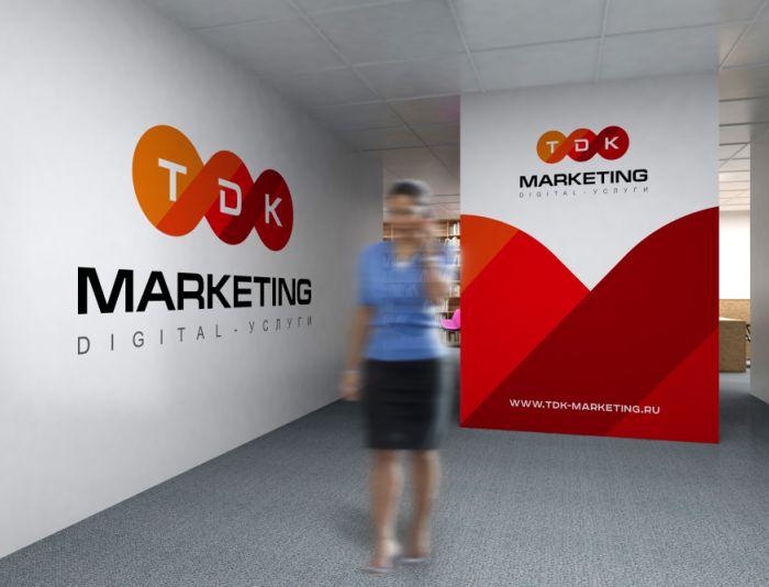 Лого и фирменный стиль для ТДК Маркетинг - дизайнер zozuca-a