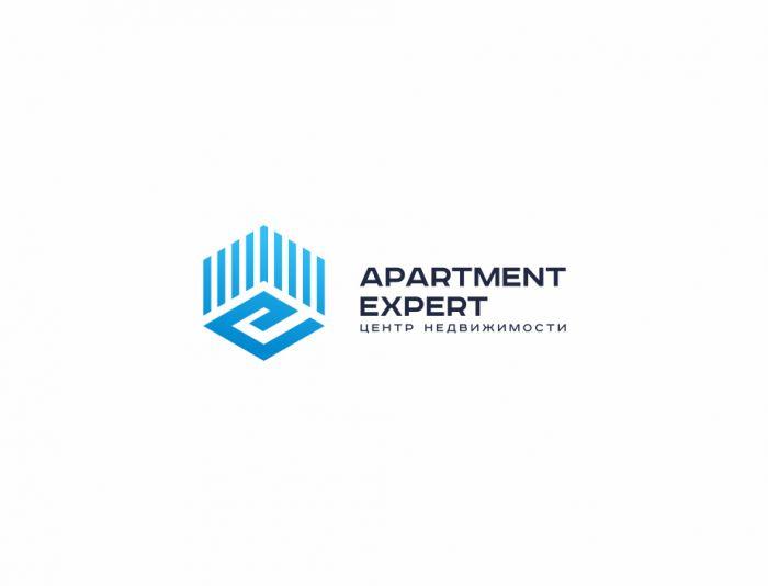 Логотип для APARTMENT EXPERT - ЦЕНТР НЕДВИЖИМОСТИ - дизайнер zozuca-a