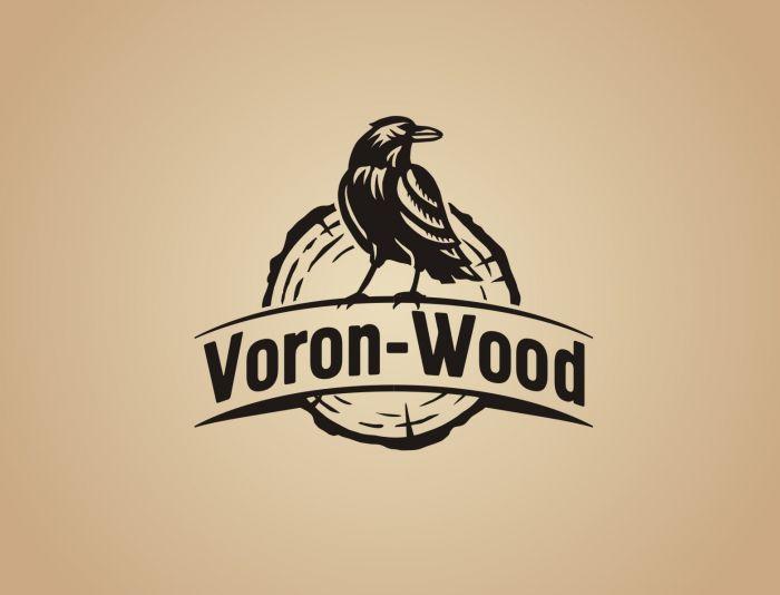 Логотип для Voron-Wood - дизайнер Zheravin