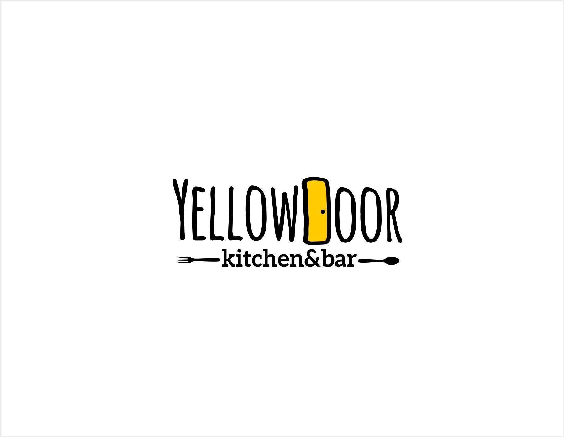 Логотип для Yellow Door kitchen&bar - дизайнер kras-sky