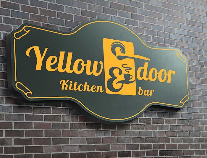 Логотип для Yellow Door kitchen&bar - дизайнер andblin61