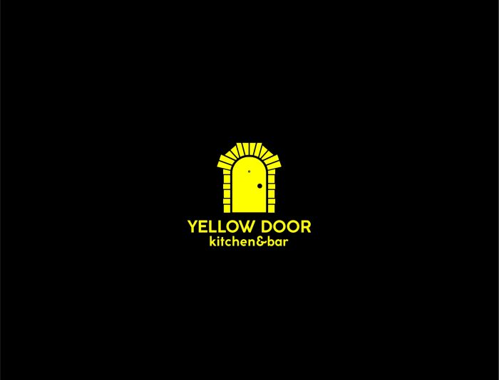 Логотип для Yellow Door kitchen&bar - дизайнер serz4868
