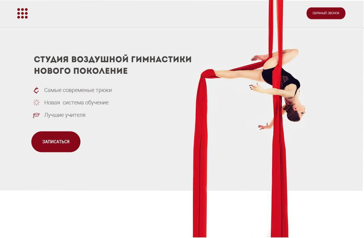 Веб-сайт для dancecircus.ru - дизайнер ins33