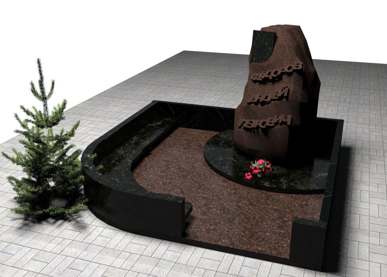 3D-модель памятника - дизайнер Zero-2606