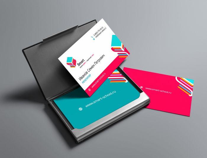 Фирм. стиль на основе логотипа для Школа