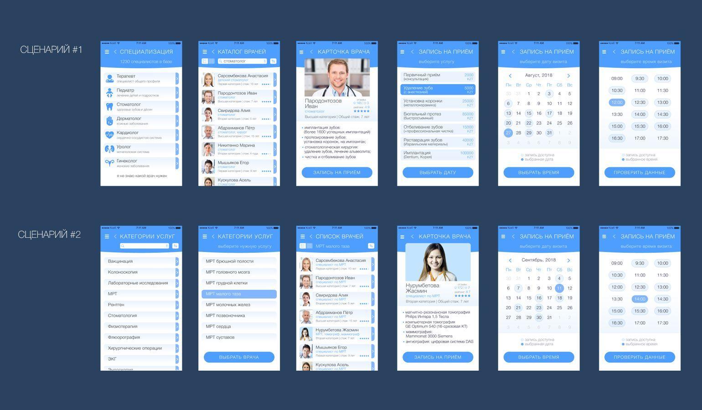 Дизайн мобильного приложения - дизайнер fordizkon