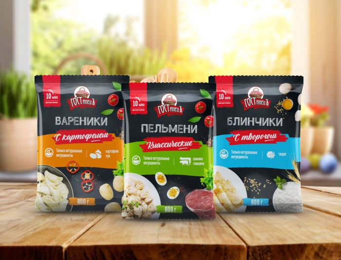Упаковка для полуфабрикатов - ГОСТинецЪ - дизайнер Tanchik25