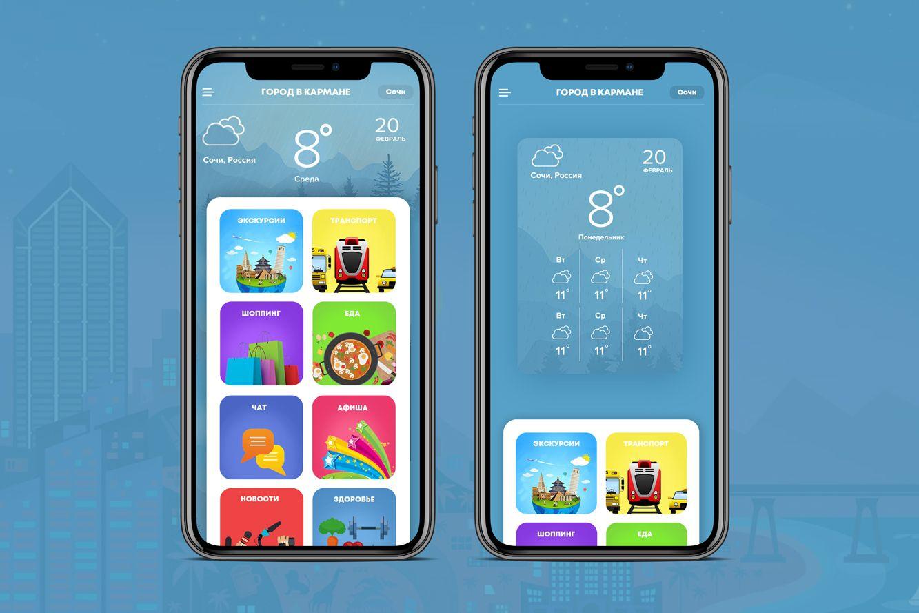 Мобильное приложение для Экскурсии - дизайнер Ibrm