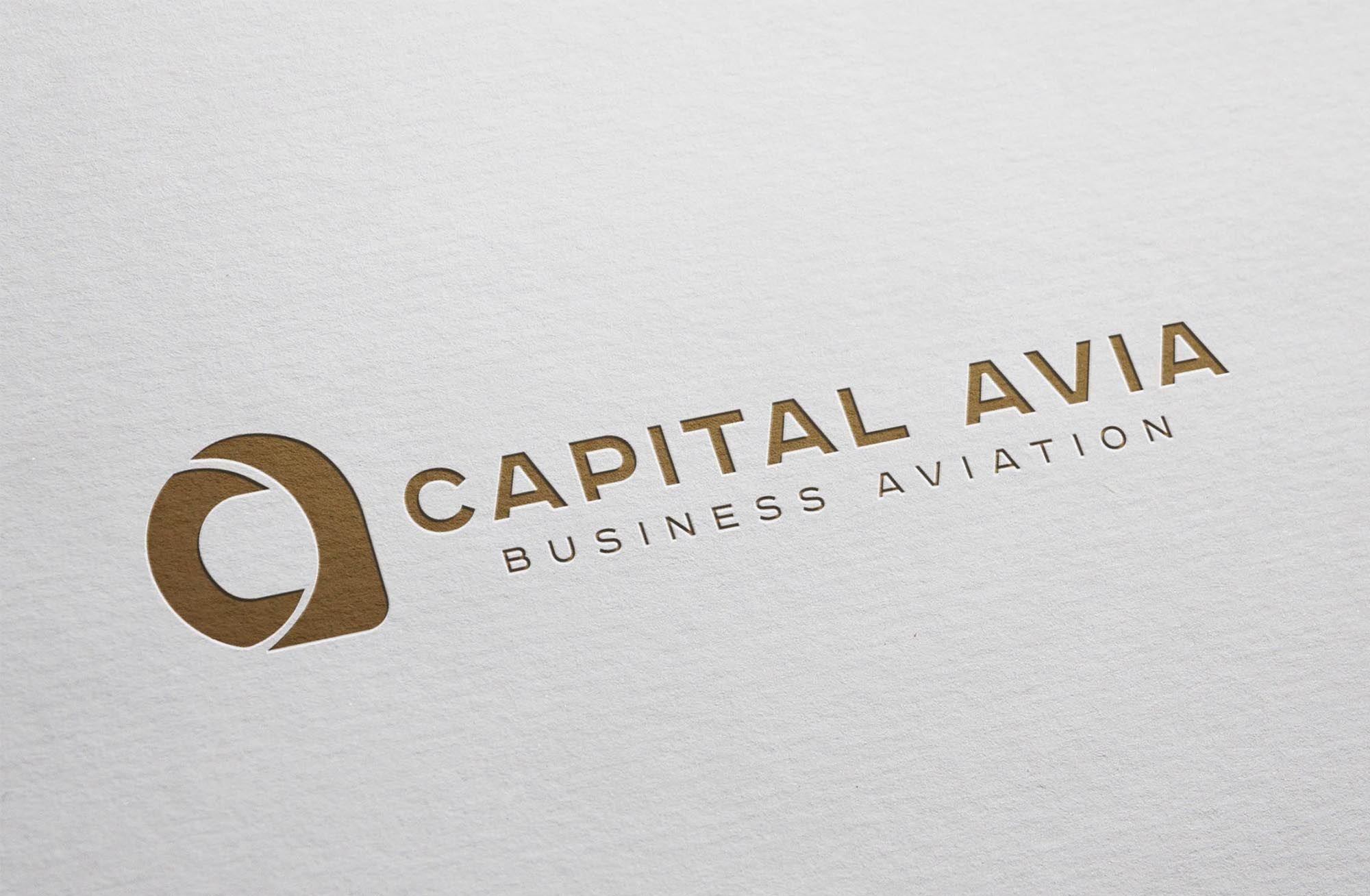 Логотип для Капитал Авиа, Capital Avia - дизайнер SmolinDenis