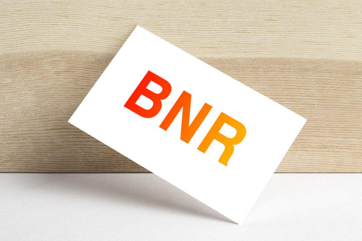 Логотип для Логотип BNR - дизайнер aliyakarimova