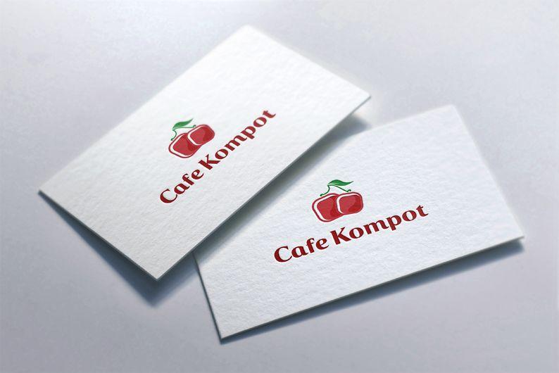 Логотип для Кафе Компот - дизайнер art-valeri