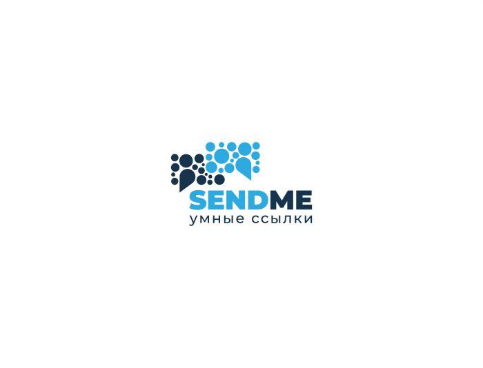 Логотип для Sendme - умные ссылки - дизайнер alpine-gold