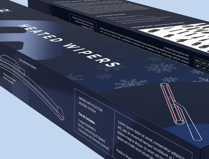 Дизайн упаковки щеток стеклоочистителя - дизайнер IbrAzieV