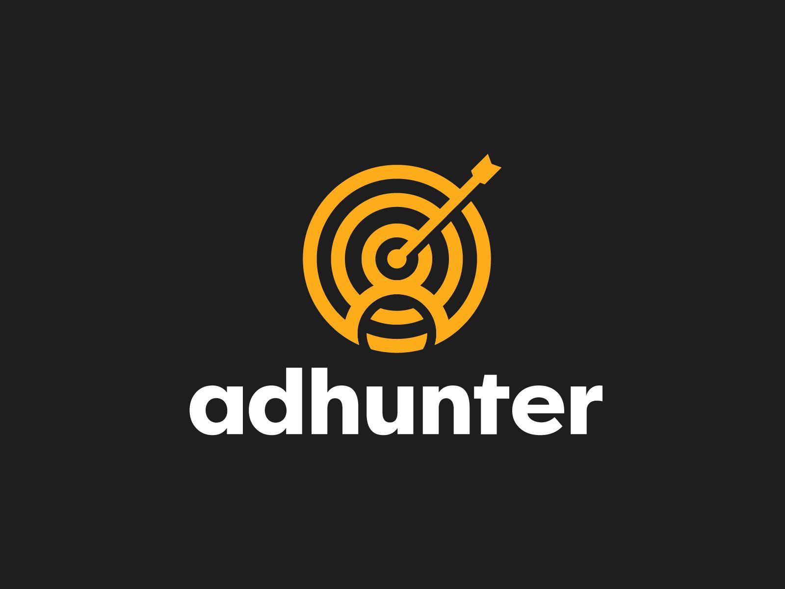 Логотип для ad hunt (сайт adhunt.ru ) - дизайнер jurabezumno17